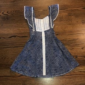 Navy Dot Dress from LF